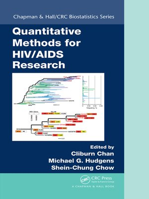cover image of Quantitative Methods for HIV/AIDS Research
