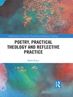 cover image of Poetry, Practical Theology and Reflective Practice