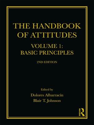 cover image of The Handbook of Attitudes, Volume 1