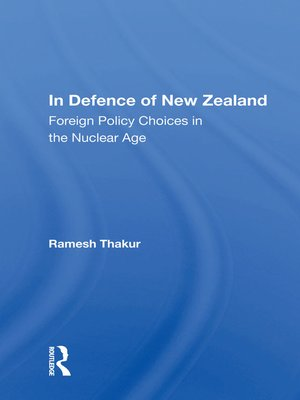 cover image of In Defence of New Zealand