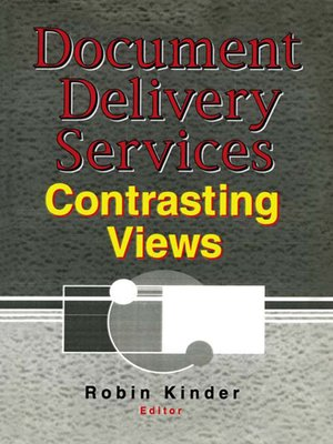 cover image of Document Delivery Services
