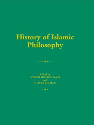 cover image of History of Islamic Philosophy
