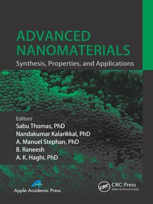 cover image of Advanced Nanomaterials