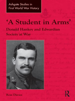 cover image of 'A Student in Arms'