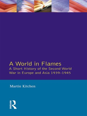 cover image of A World in Flames