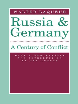 cover image of Russia and Germany