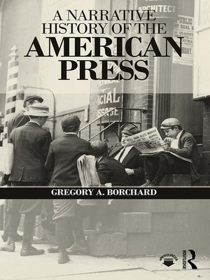 cover image of A Narrative History of the American Press