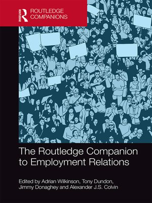 cover image of The Routledge Companion to Employment Relations