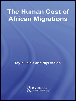 cover image of The Human Cost of African Migrations