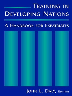 cover image of Training in Developing Nations