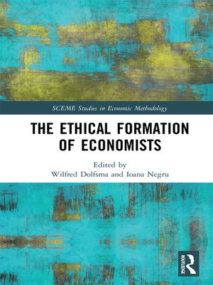cover image of The Ethical Formation of Economists