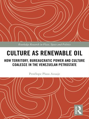 cover image of Culture as Renewable Oil