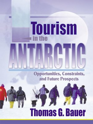 cover image of Tourism in the Antarctic