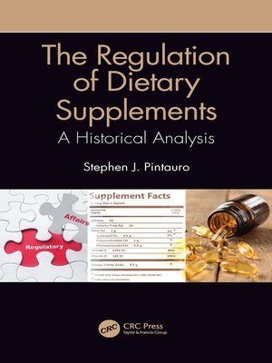 cover image of The Regulation of Dietary Supplements