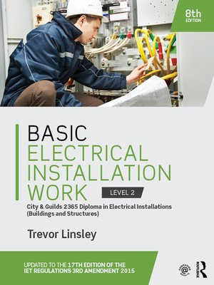 cover image of Basic Electrical Installation Work 2365 Edition