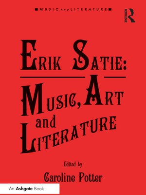 cover image of Erik Satie