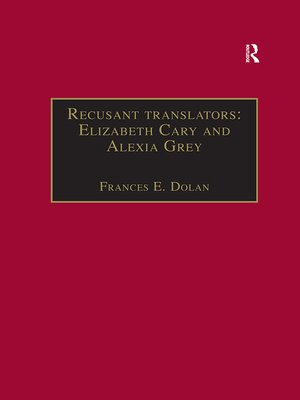 cover image of Recusant translators