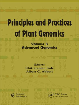 cover image of Principles and Practices of Plant Genomics, Volume 3