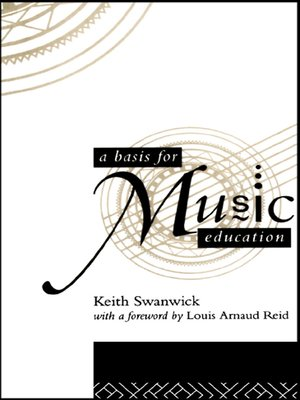 cover image of A Basis for Music Education