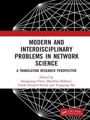 cover image of Modern and Interdisciplinary Problems in Network Science