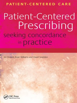 cover image of Patient-Centered Prescribing