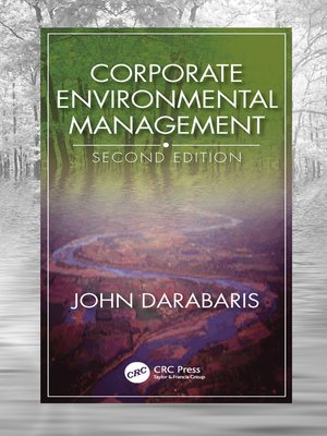 cover image of Corporate Environmental Management