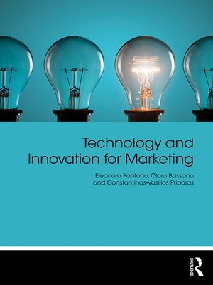cover image of Technology and Innovation for Marketing