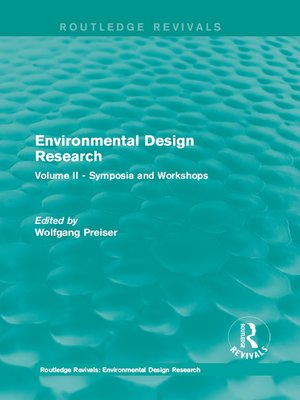 cover image of Environmental Design Research