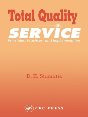 cover image of Total Quality Service