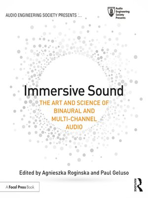 cover image of Immersive Sound