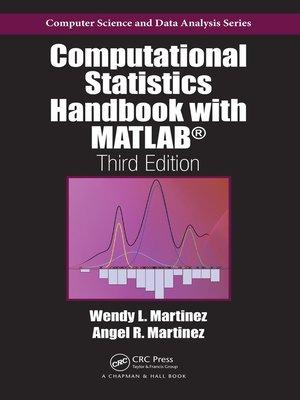 cover image of Computational Statistics Handbook with MATLAB