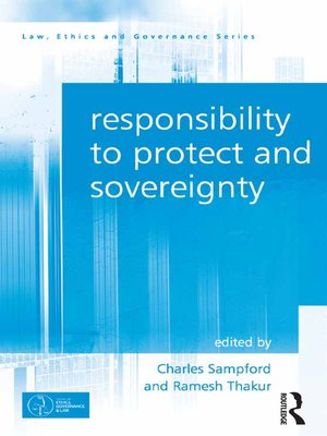cover image of Responsibility to Protect and Sovereignty