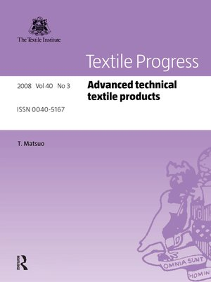 cover image of Advanced Technical Textile Products
