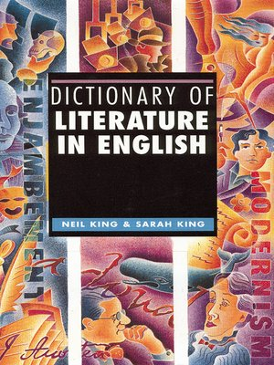 cover image of Dictionary of Literature in English