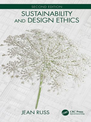 cover image of Sustainability and Design Ethics