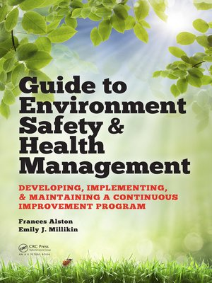 cover image of Guide to Environment Safety and Health Management