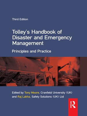 cover image of Tolley's Handbook of Disaster and Emergency Management