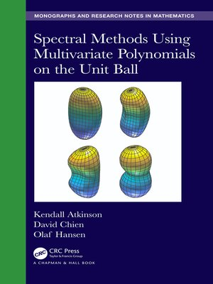 cover image of Spectral Methods Using Multivariate Polynomials On the Unit Ball