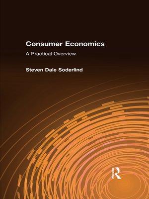 cover image of Consumer Economics