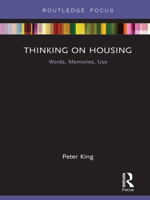 cover image of Thinking on Housing