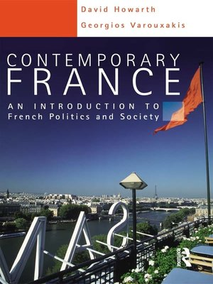 cover image of Contemporary France