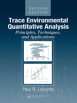 cover image of Trace Environmental Quantitative Analysis
