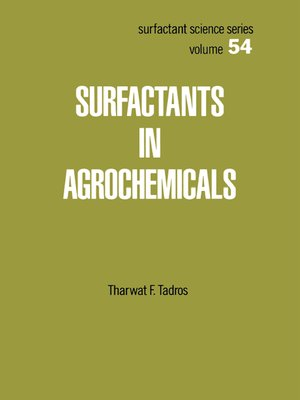 cover image of Surfactants in Agrochemicals