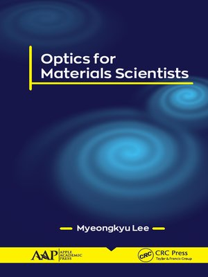 cover image of Optics for Materials Scientists