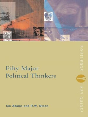 cover image of Fifty Major Political Thinkers