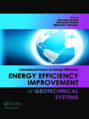 cover image of Energy Efficiency Improvement of Geotechnical Systems