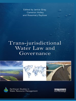 cover image of Trans-jurisdictional Water Law and Governance