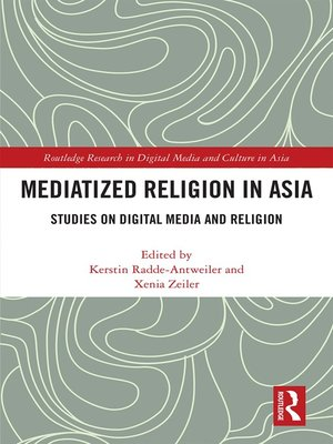 cover image of Mediatized Religion in Asia