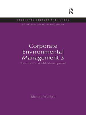 cover image of Corporate Environmental Management 3
