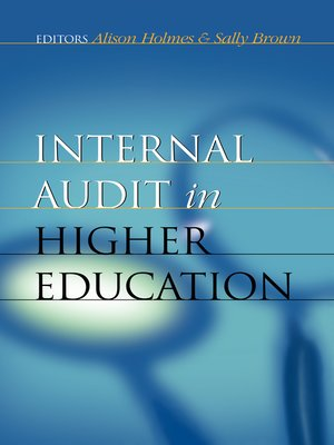cover image of Internal Audit in Higher Education